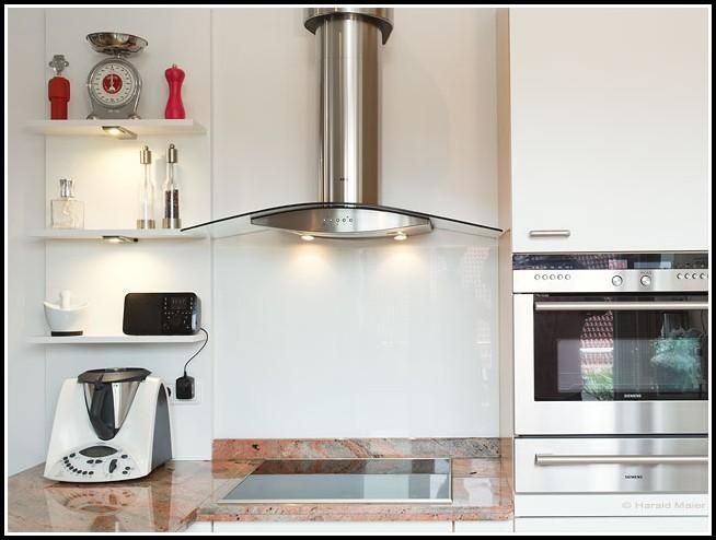 Glasplatten Statt Fliesen In Der Küche