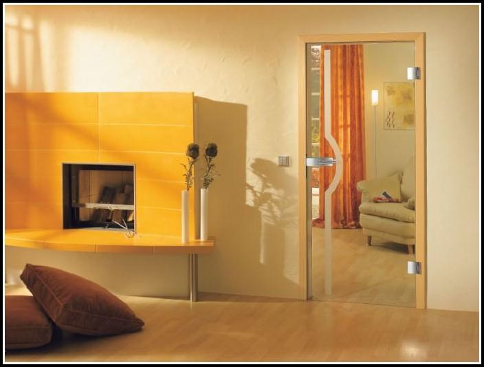 Glastür Wohnzimmer