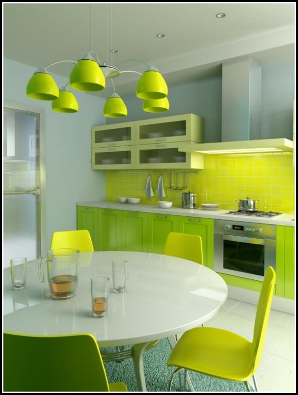 Grüne Fliesen Küche