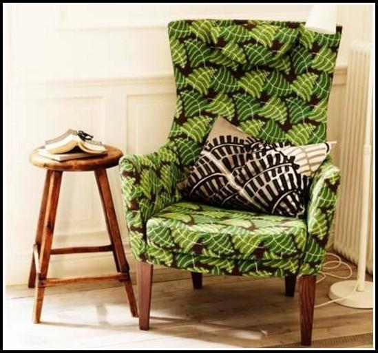 Grüne Sessel Ikea