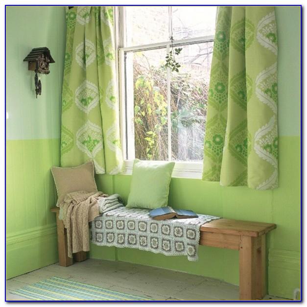 Grüner Vorhang Blickdicht