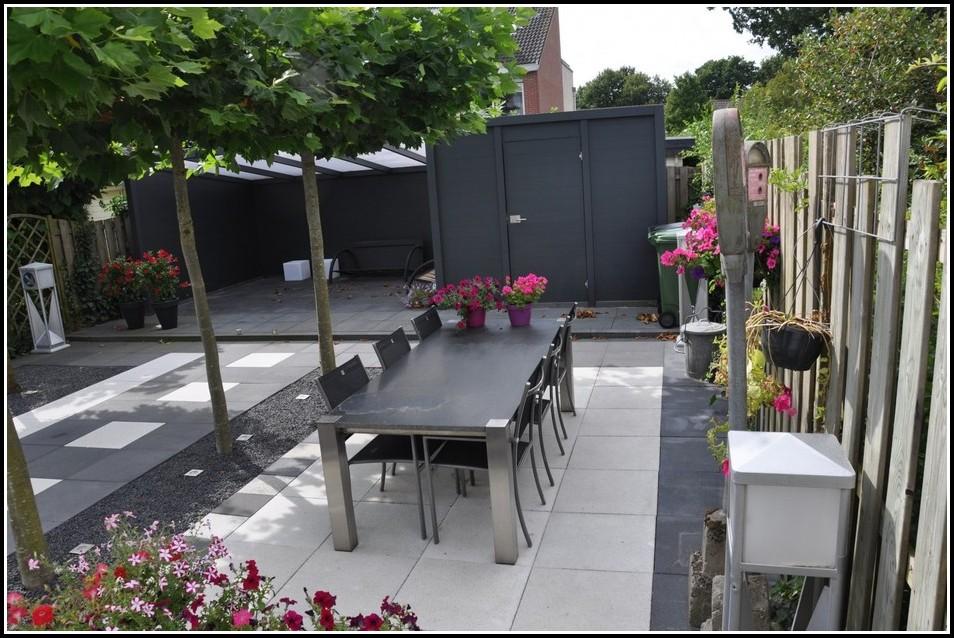 Grenzbebauung Garage Mit Terrasse