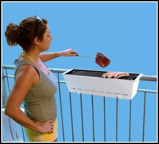 Grillen Auf Dem Balkon Elektrogrill
