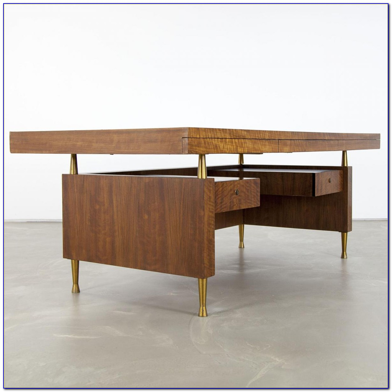 Großer Schreibtisch Holz