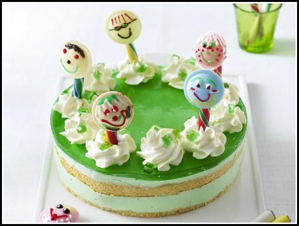 Gummibärchen Kuchen Backen