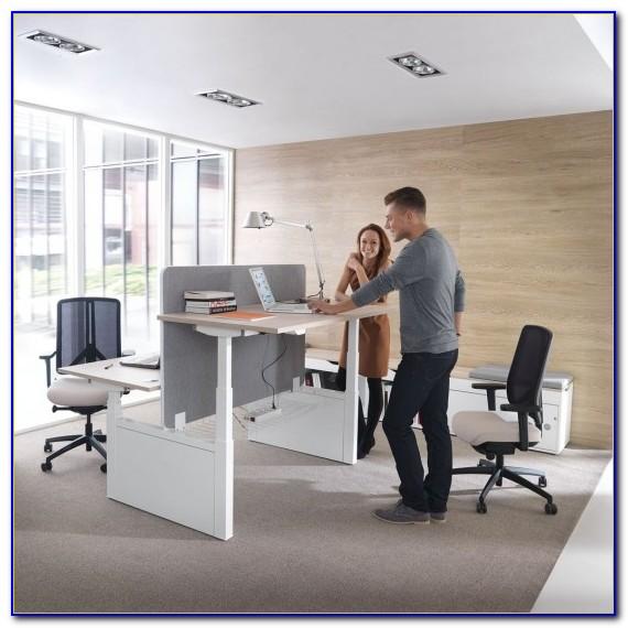 Höhenverstellbarer Schreibtisch Elektrisch Ebay