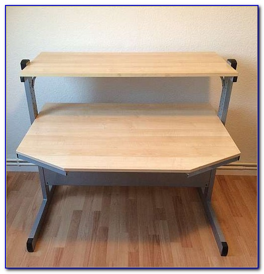 Höhenverstellbarer Schreibtisch Ikea Galant