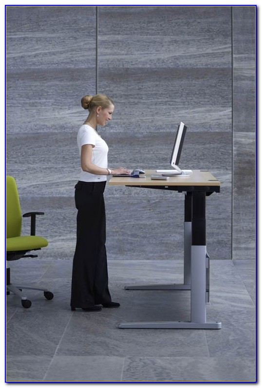 Höhenverstellbarer Schreibtisch Selber Bauen
