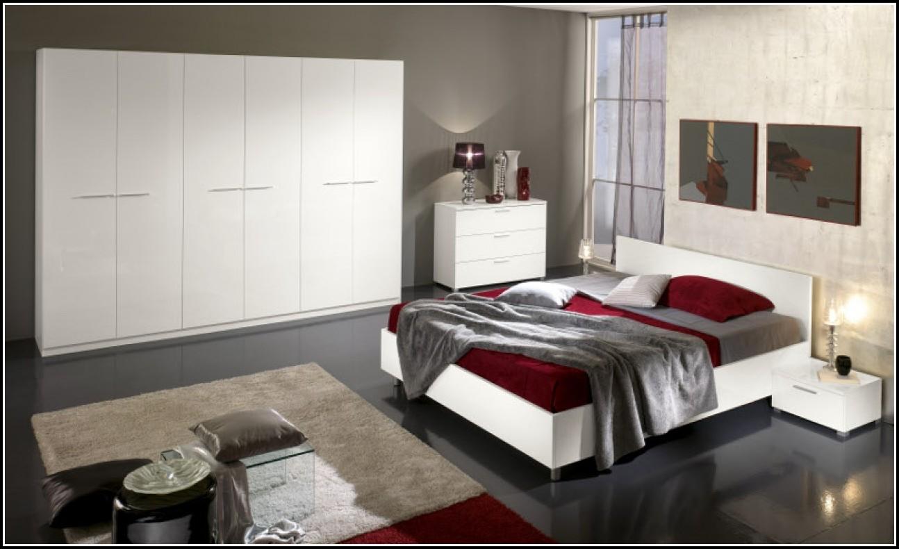 Hülsta Schlafzimmer Weiß Hochglanz