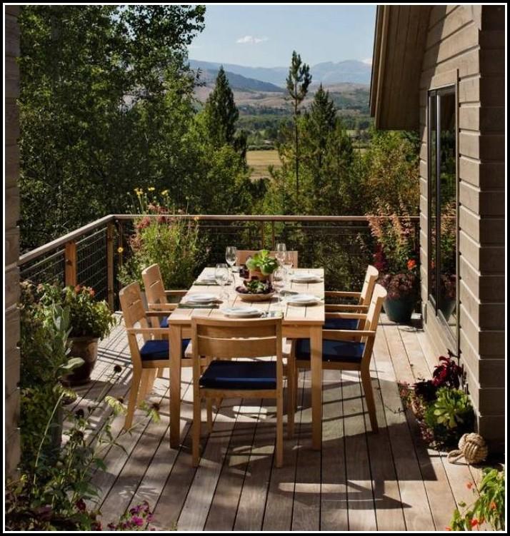 Handläufe Holz Balkon