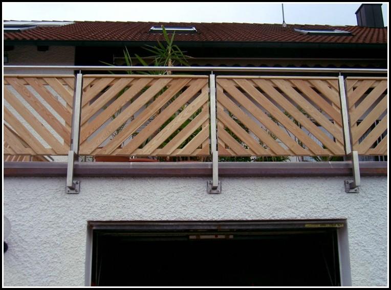 Handlauf Für Balkon Aus Holz