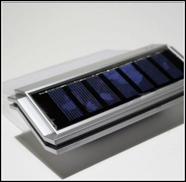 Hausnummer Mit Beleuchtung Solar