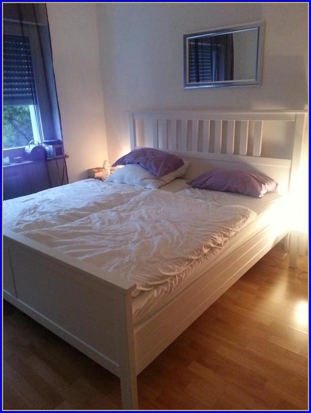 Hemnes Bett 180×200 Schwarzbraun