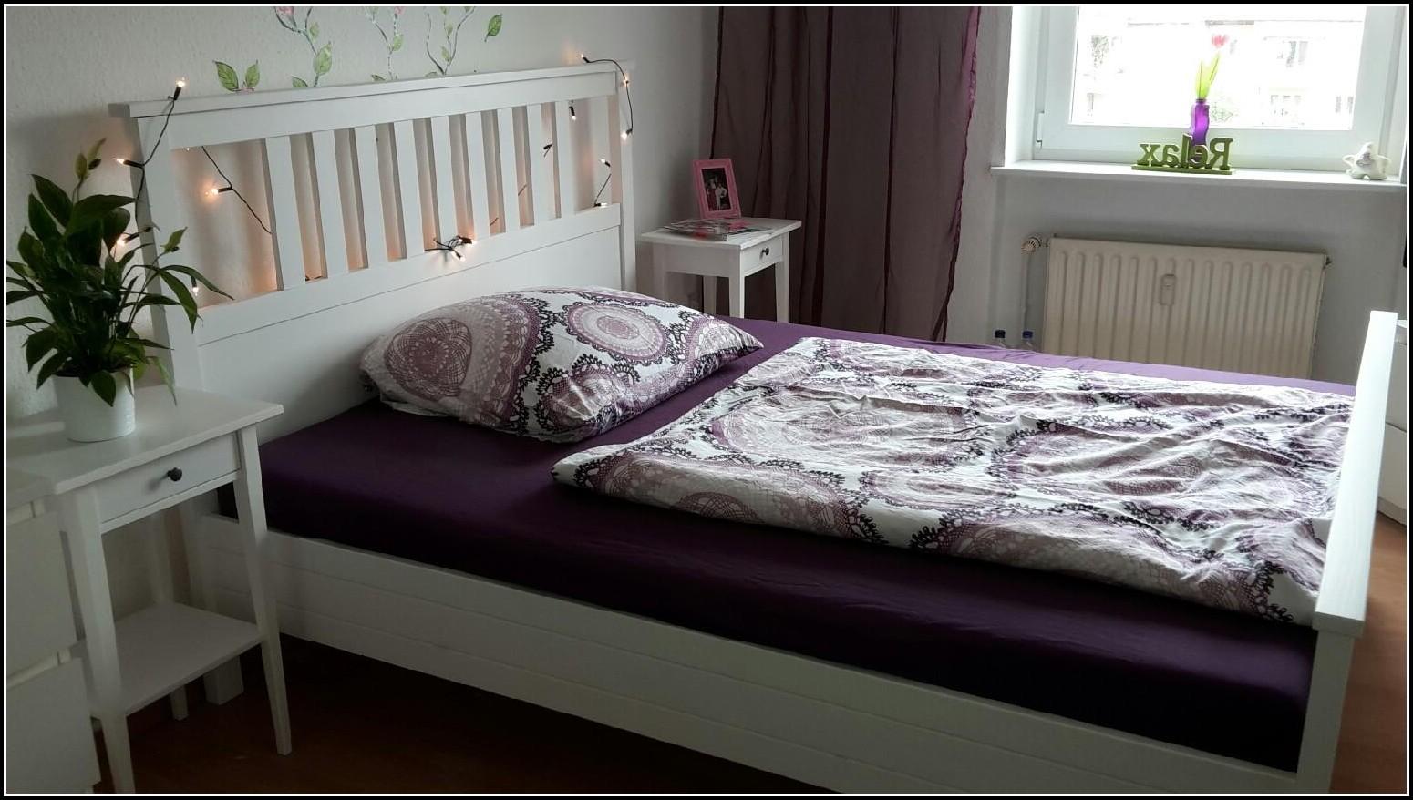 Hemnes Bett Weiß 140×200 Gebraucht