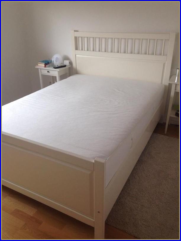 Hemnes Bettgestell 140×200 Weiß