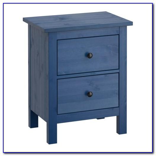Hemnes Kommode Blau Ikea