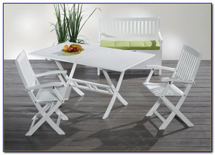 Herlag Gartenmöbel Holz Weiß