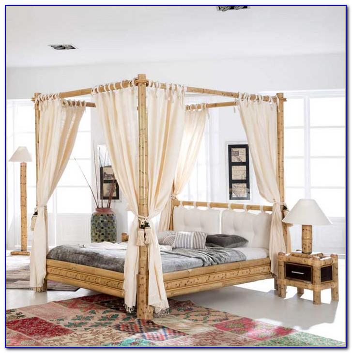 Himmelbett Vorhang Orientalisch