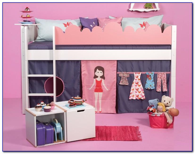 Hochbett Vorhang Mädchen