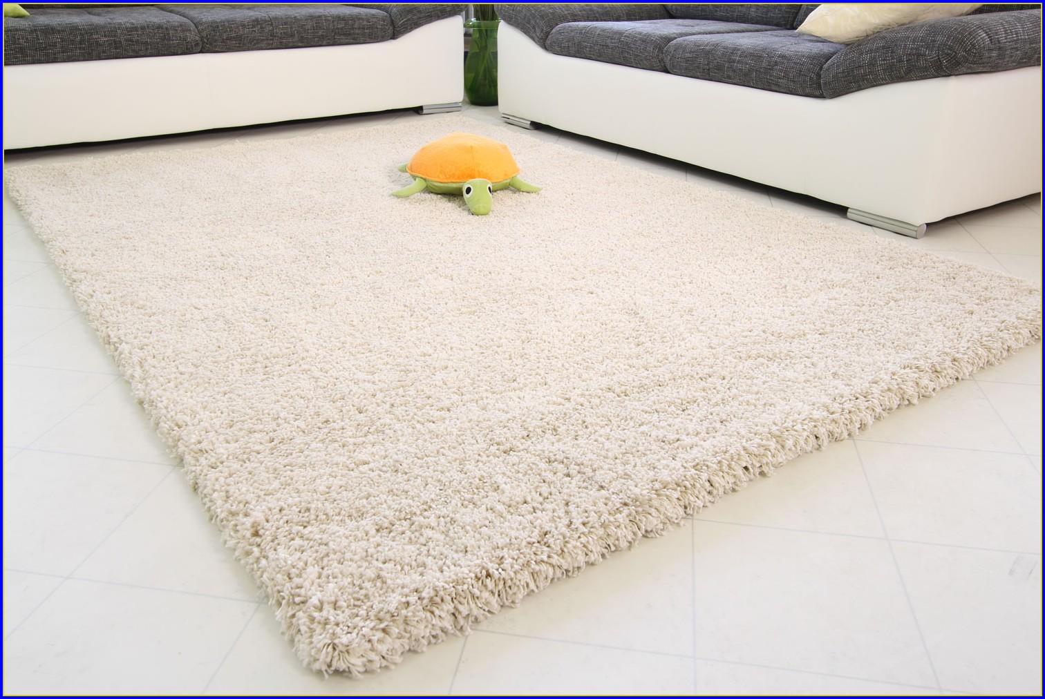 Hochflor Teppich Beige 200 X 300