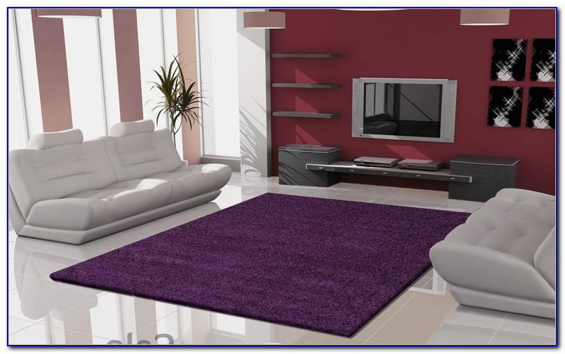Hochflor Teppich Lila Ebay