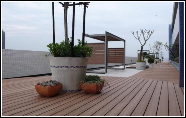 Holz Kunststoff Gemisch Terrasse