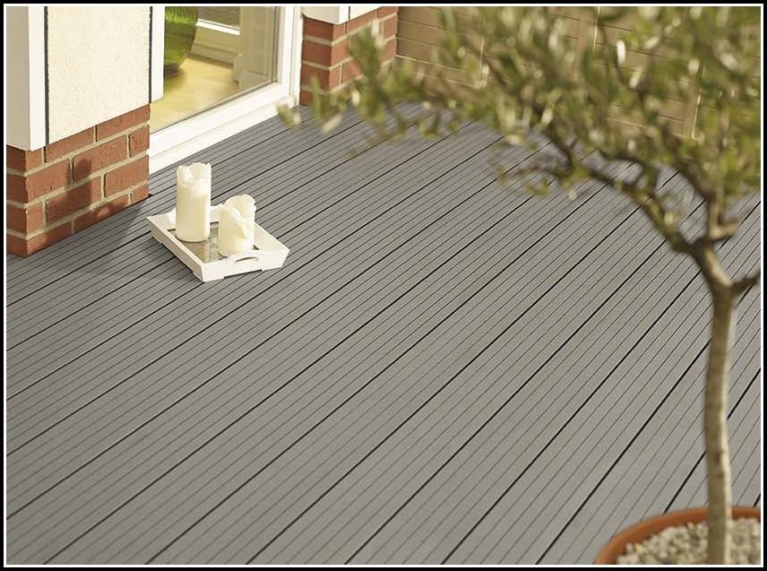 Holz Oder Kunststoff Terrasse