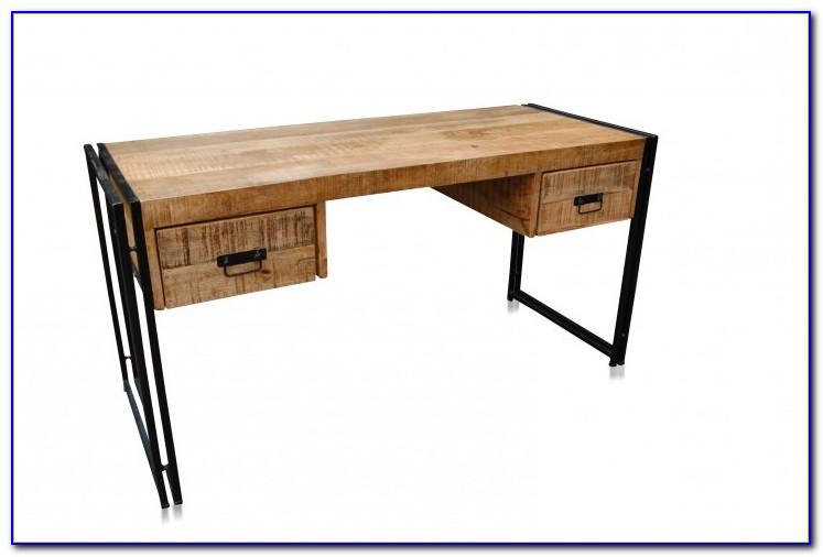 Holz Schreibtisch Massiv