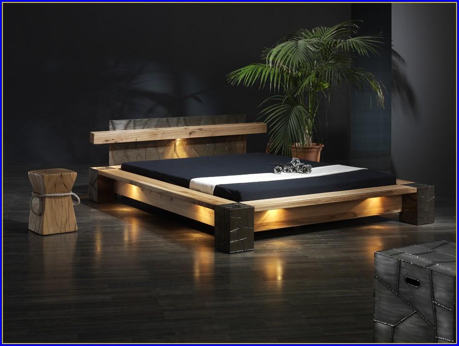 Holzbett Bett Massiv