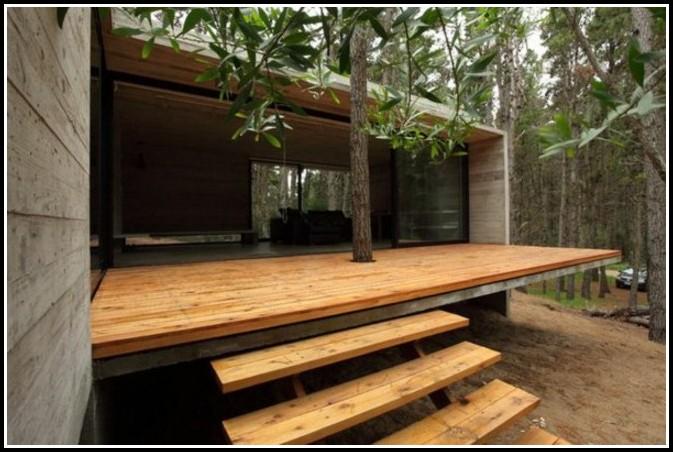 Holzhaus Veranda Bauen