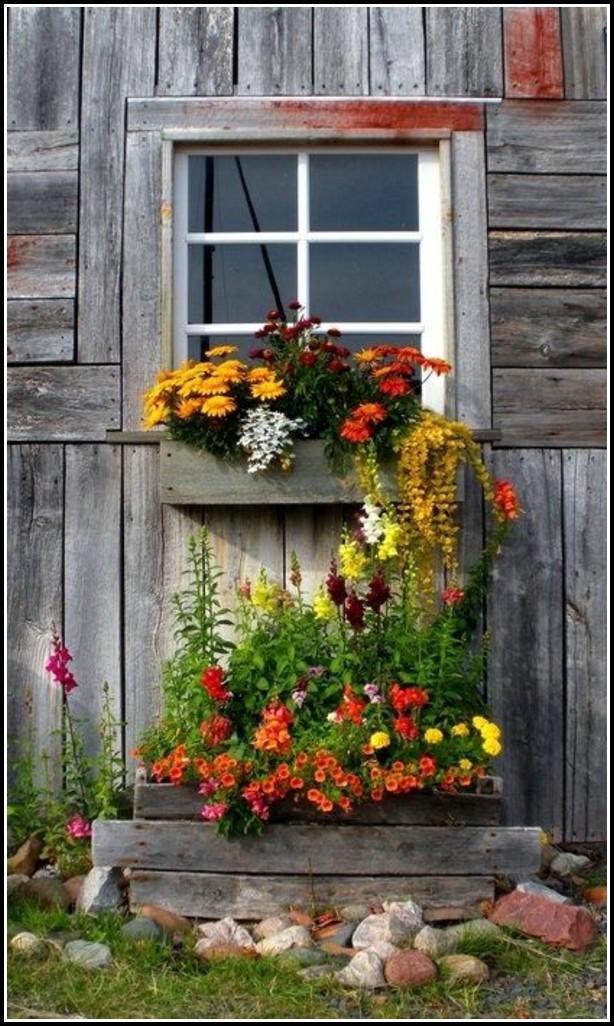 Holzland Balkon Blumenkasten