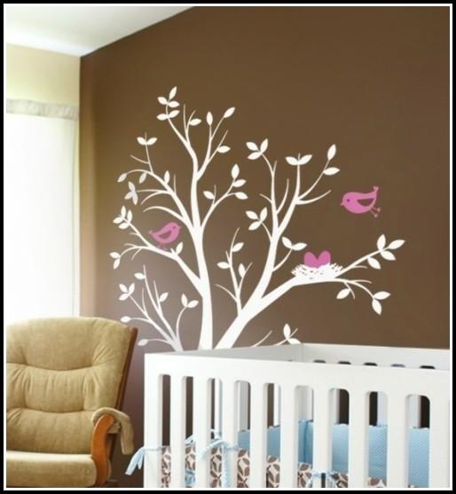 Ideen Wandgestaltung Babyzimmer