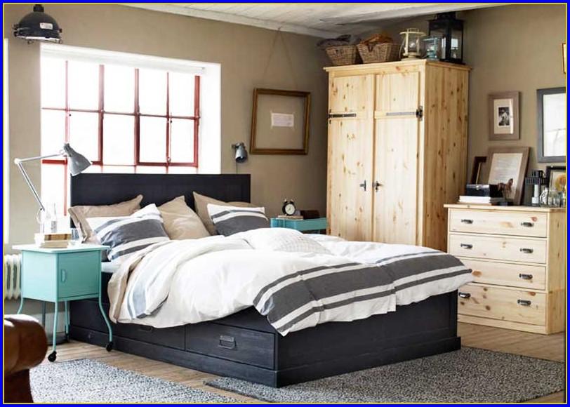 Ikea Bett Aus Holz