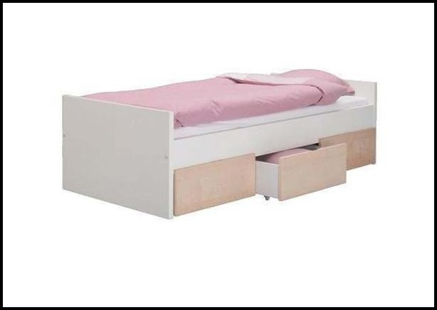 Ikea Bett Mit Schubladen Schwarz