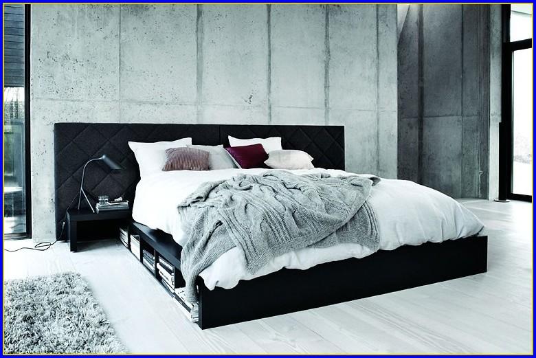 Ikea Bett Schubladen Weiß