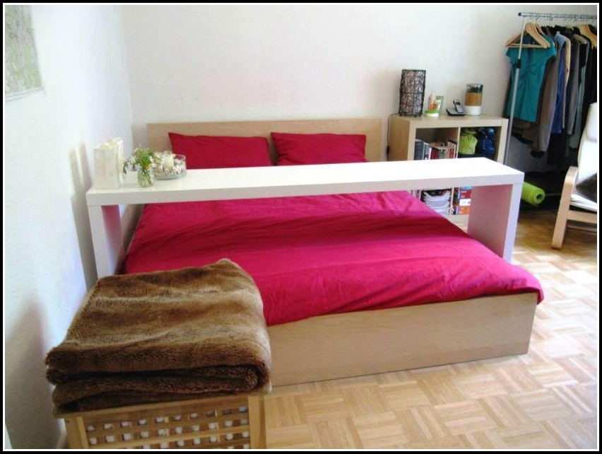 Ikea Bett Tisch Rollen