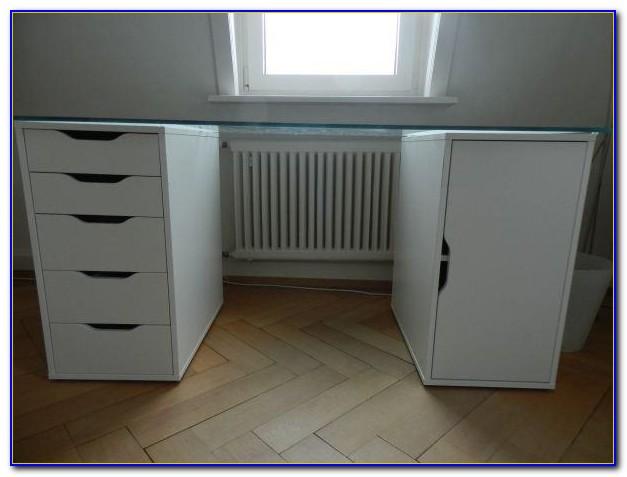 Ikea Effektiv Birke Schreibtisch