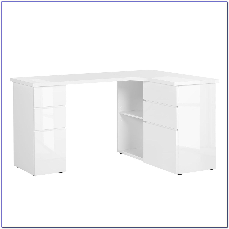 Ikea Expedit Schreibtisch Weiß Hochglanz