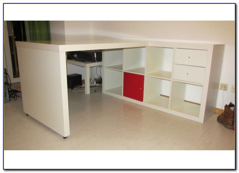 Ikea Galant Schreibtisch Birke