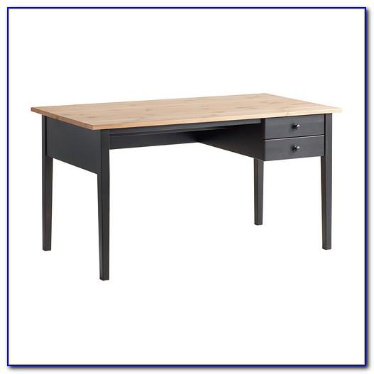 Ikea Galant Schreibtisch Schwarzbraun