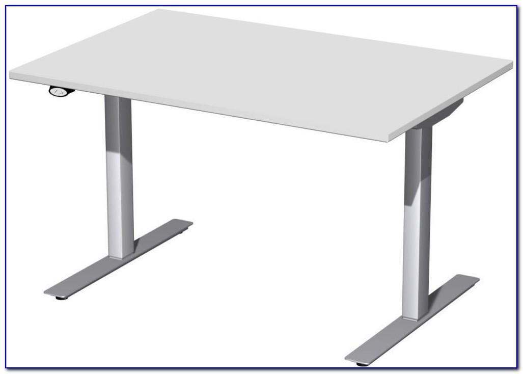 Ikea Höhenverstellbarer Schreibtisch Kurbel