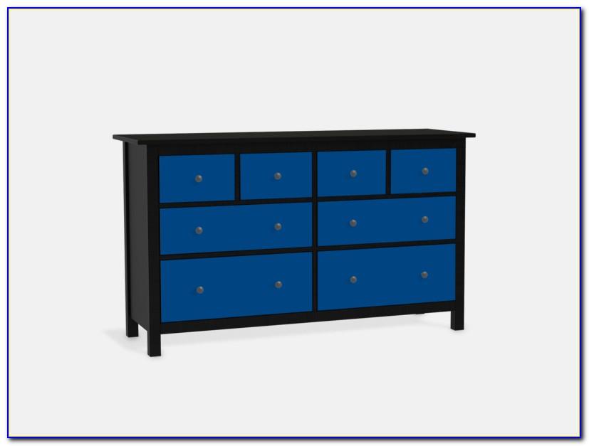 Ikea Hemnes Kommode Blau 6 Schubladen