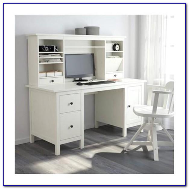 Ikea Hemnes Schreibtisch Mit Aufsatz
