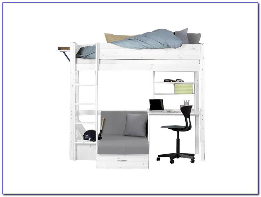 Ikea Hochbett Schreibtischplatte