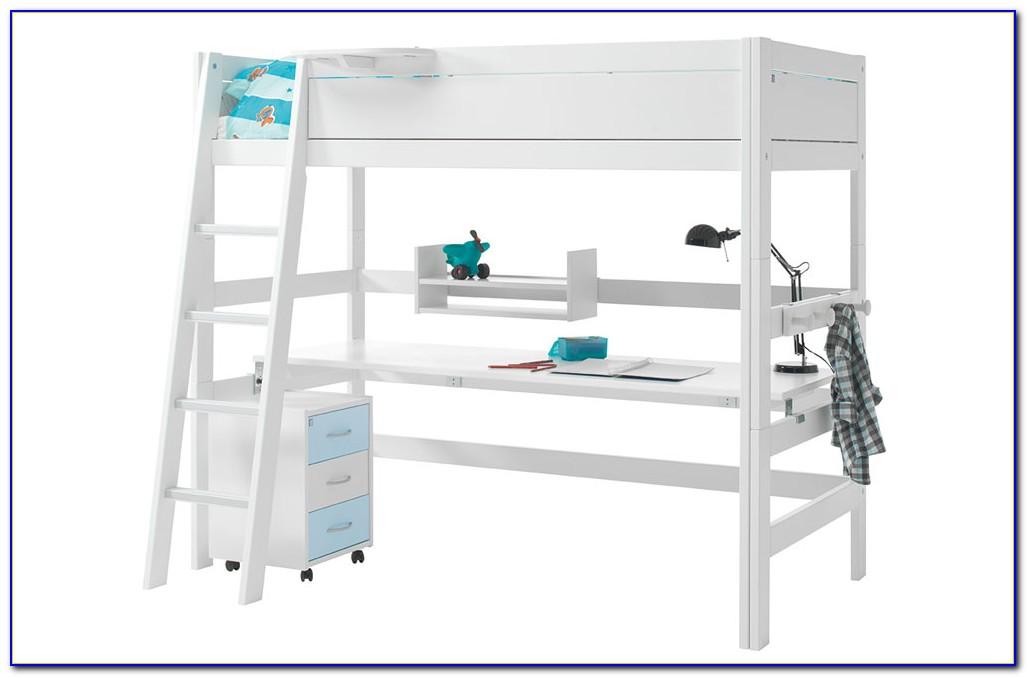 Ikea Hochbett Tromsö Mit Schreibtisch