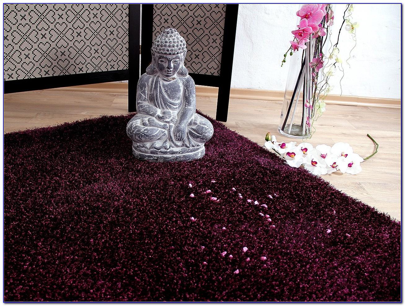 Ikea Langflor Teppich Lila