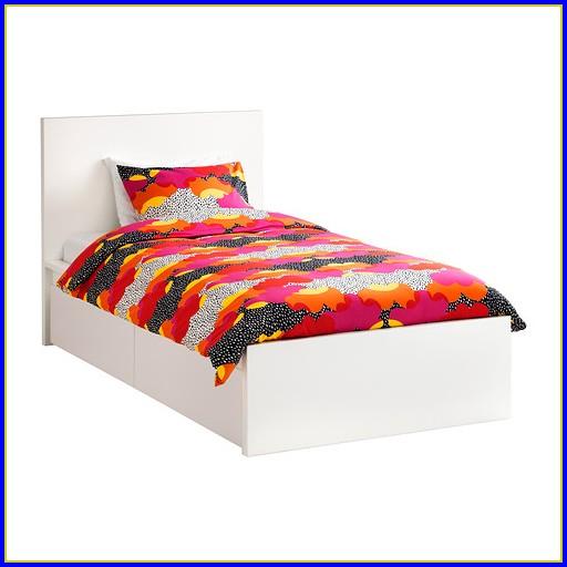 Ikea Malm Bett 90×200 Weiß