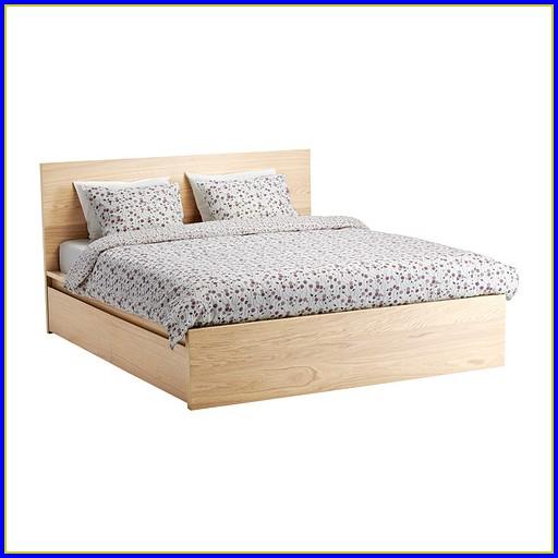 Ikea Malm Bett Hoch Weiß