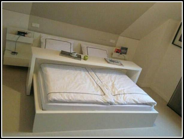 Ikea Malm Bett Tisch Weiß