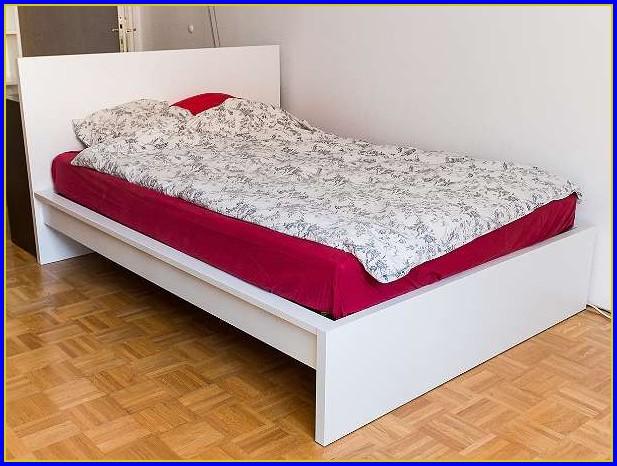 Ikea Malm Bett Weiß 180